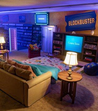 Esto cuesta pasar una noche en Blockbuster a través de Airbnb