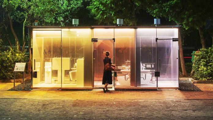 Baños públicos en los parques de Tokio… ¿transparentes?