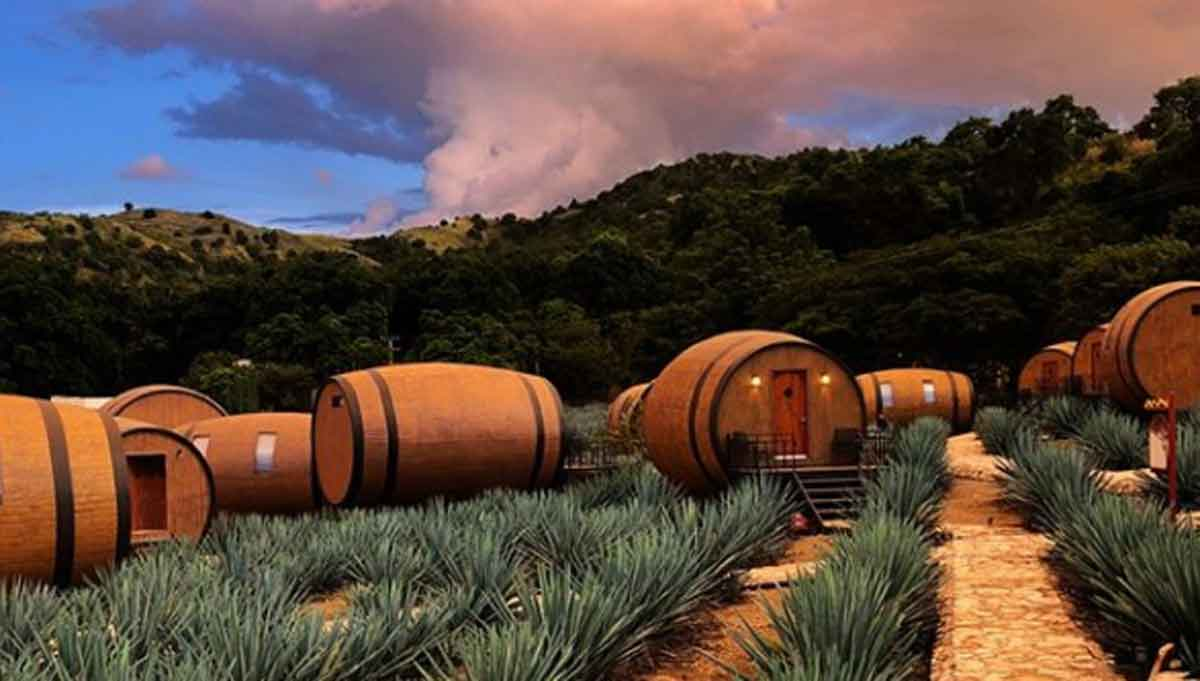 Duerme en un barril - Tequila Jalisco - Mexico Travel Channel, Turismo de Jalisco, Turismo México, Turismo playa, Puerto Vallarta, Guadalajara, Zapopan, Tlaquepaque, Viaje a Tequila,Lugares turisticos, Turismo jalisco 2021
