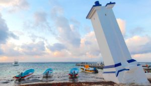 La playa Ventana al Mar ondea una bandera azul