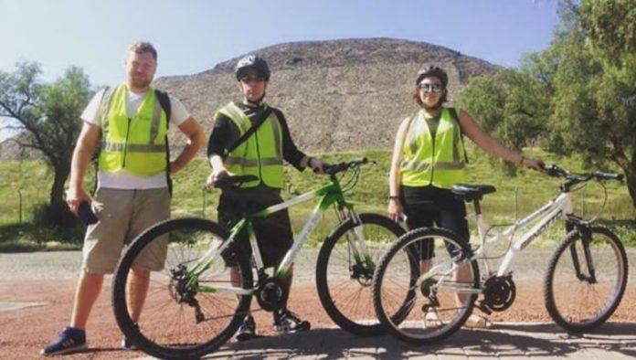 ¿Conoces Teotihuacán en bici?
