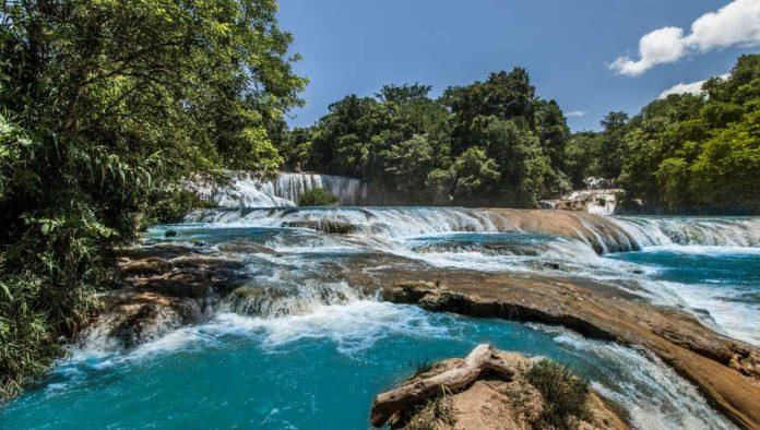 Cascadas de Agua Azul: su color es más bonito en diciembre