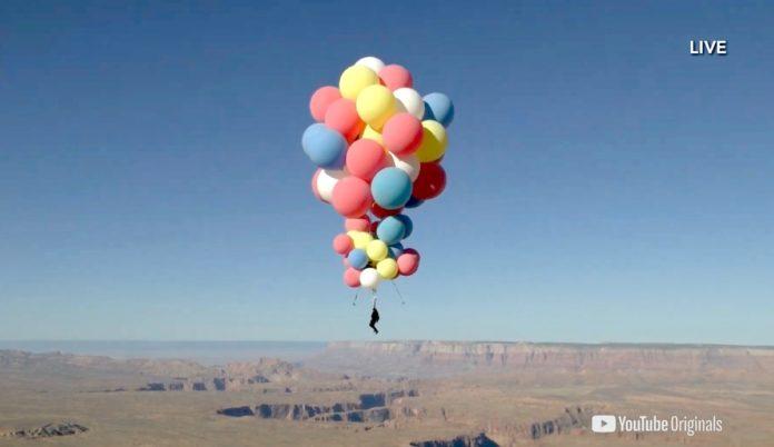 Hazaña en Arizona: vuelo en globos al estilo Up