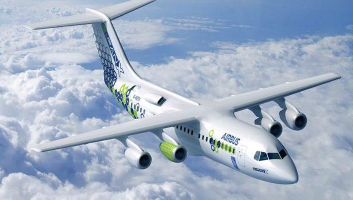 Airbus lanzará el primer avión 100% eléctrico, cero emisiones