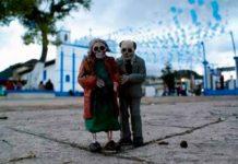 Calaveritas en las Calles de Chiapas