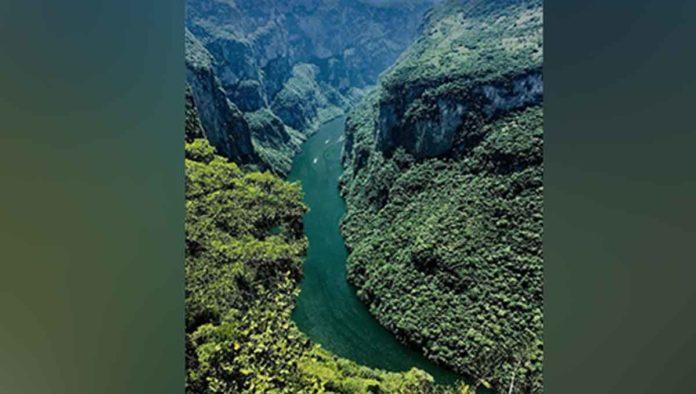 El cañón del Sumidero