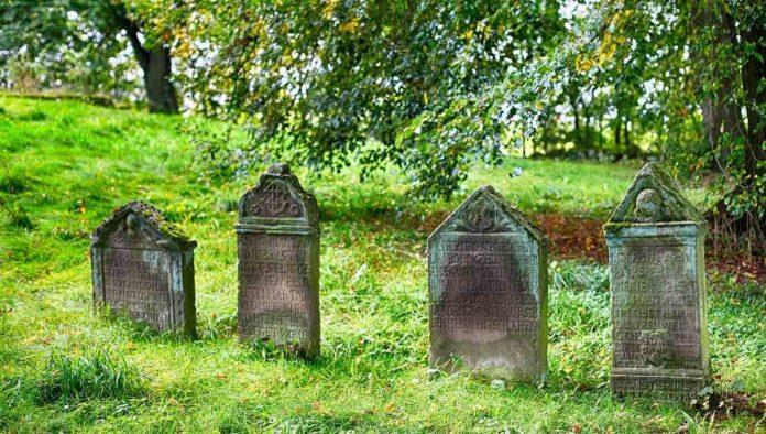 enterrar cementerio