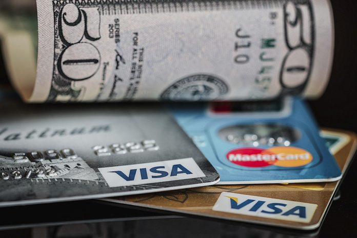 arjeta de crédito en EE. UU.