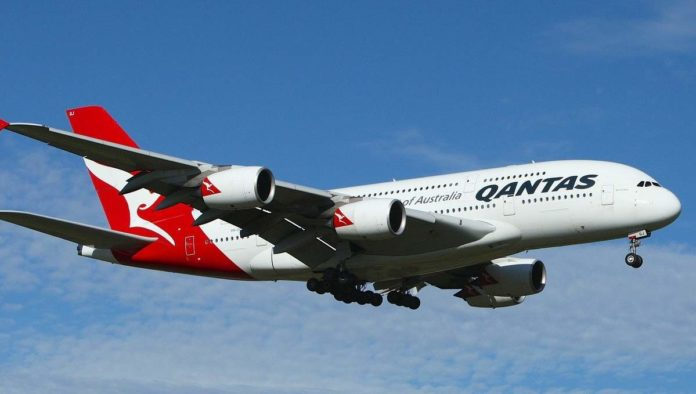 Qantas vuelo