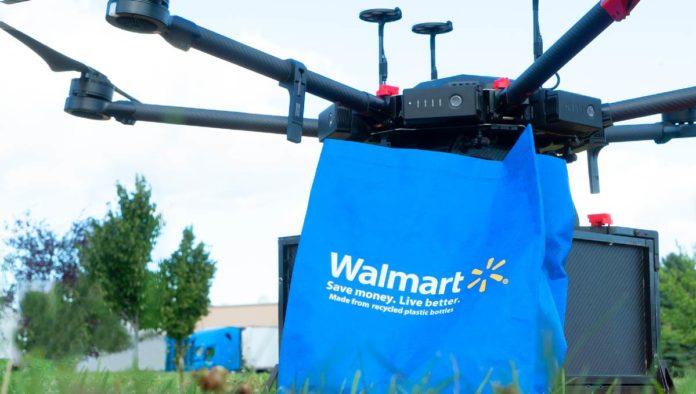 Walmart incorporará drones para envíos en EE. UU