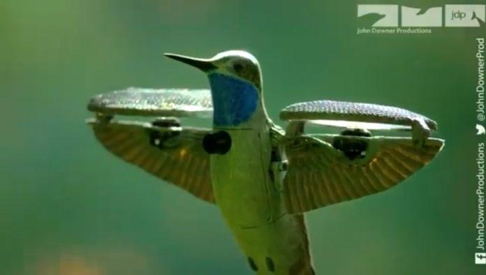 Dron colibrí