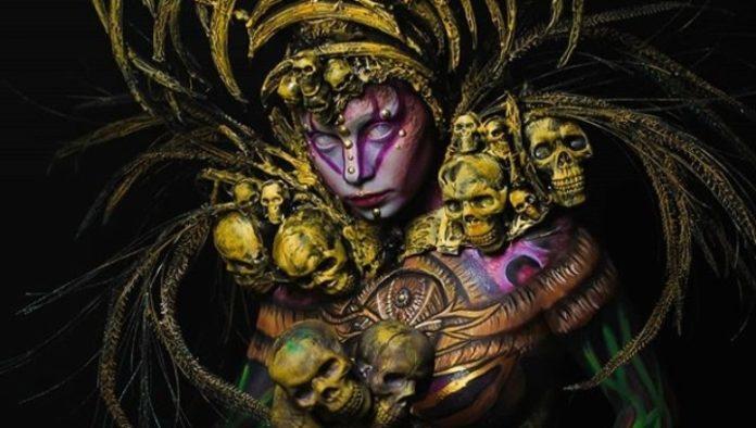 ¿Conoces Las Catrinas Body Paint de Yucatán?