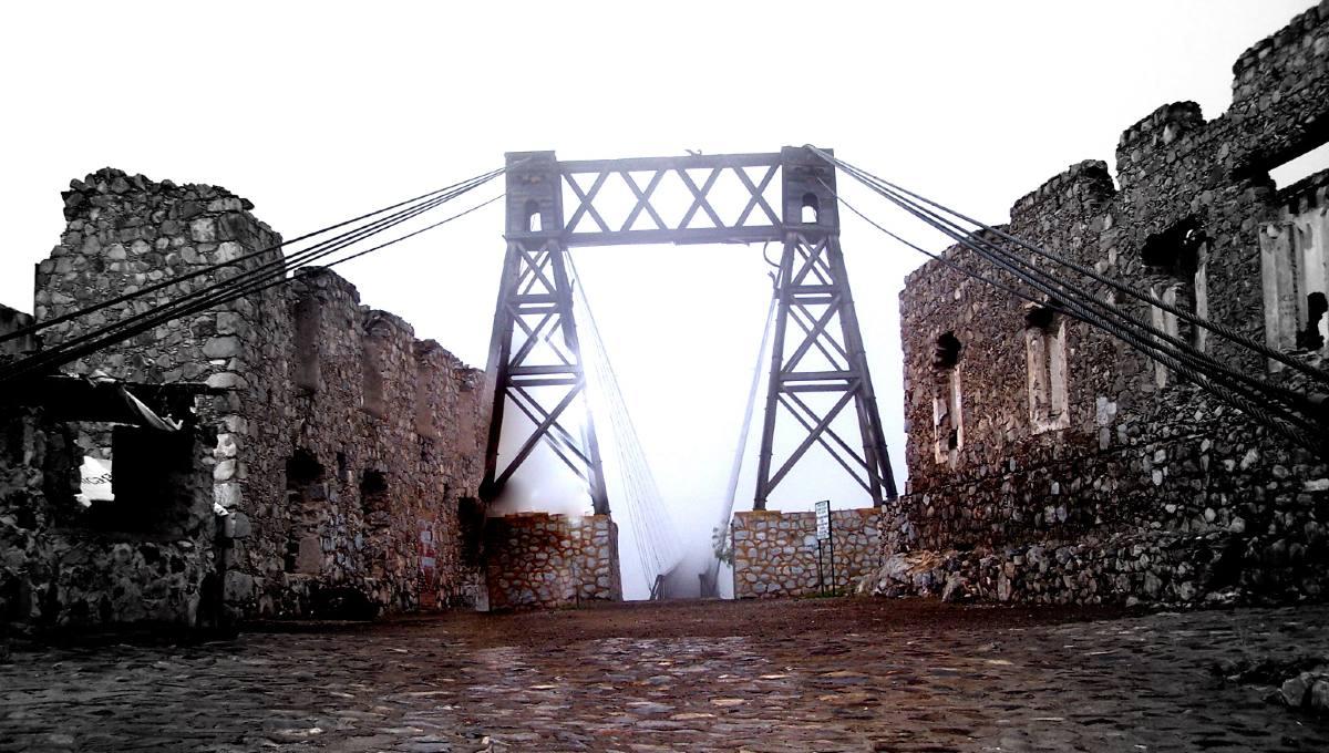 Ojuela fue un lugar dotado de riquezas, hoy es uno de los pueblos aterradores de México.