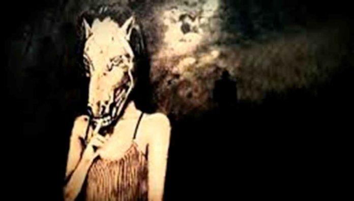 Leyenda de la mujer con cara de caballo