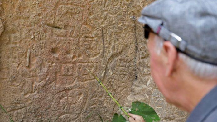 El altar de Carreragco: grabados prehistóricos de México, similares a otros de España