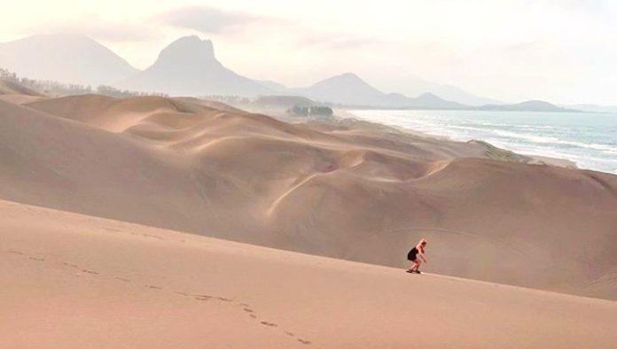 Desliza tu adrenalina por las dunas de Chachalacas