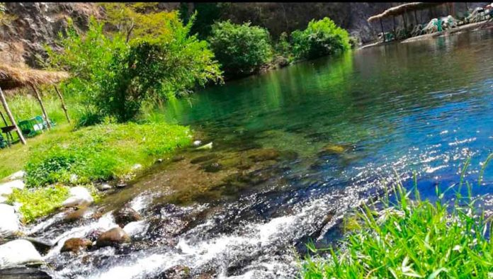 El Hervidero, el lugar donde nace el agua