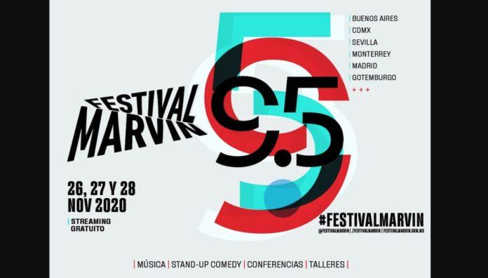 Festival Marvin: música y stand up para revivir el alma