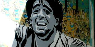 Maradona tour Barrios Futboleros