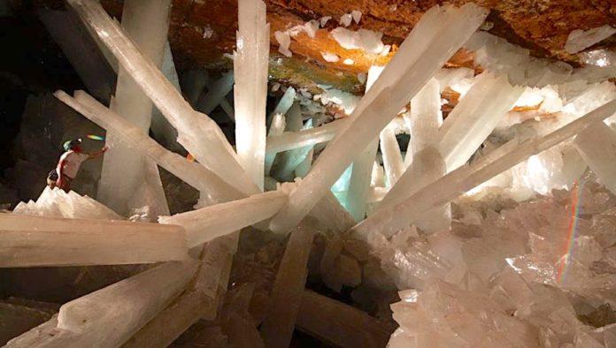 Naica: una mina de cristales gigantes únicos en el mundo