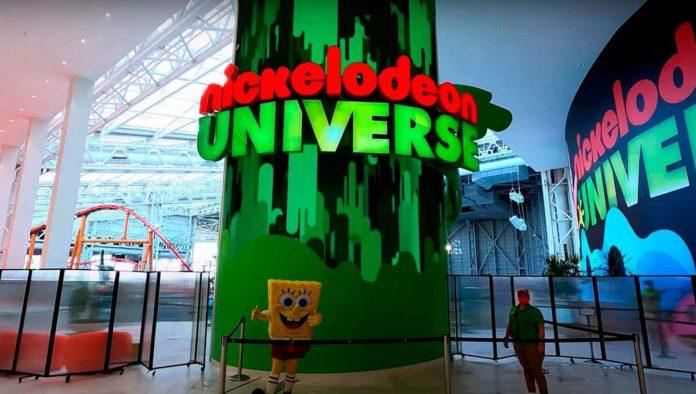 Revive tu infancia en el parque Nickelodeon Universe
