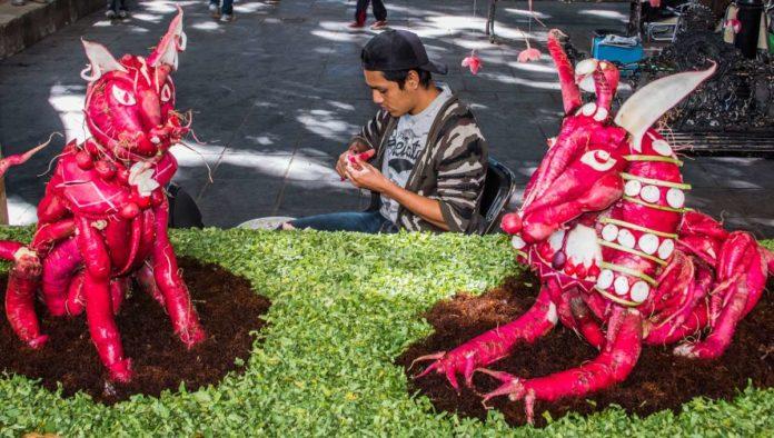 Se acerca la Noche de Rábanos en Oaxaca