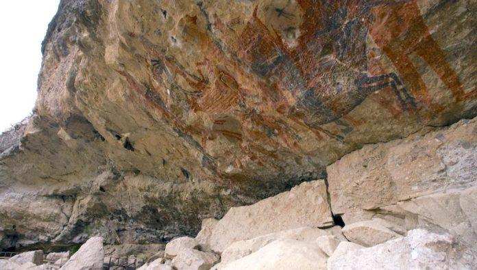 Cueva del Ratón: pinturas rupestres en la Sierra de San Francisco