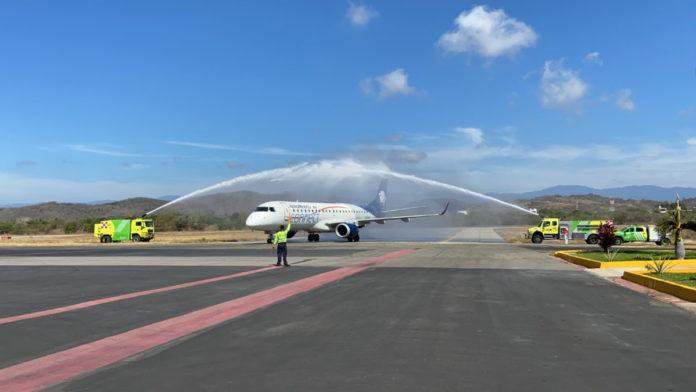 Aeroméxico inicia importante ruta en Puerto Escondido