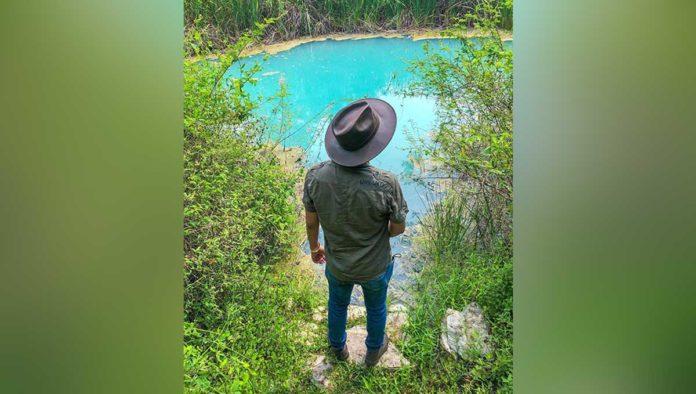 La Azulfurosa, un maravilloso cenote tamaulipeco