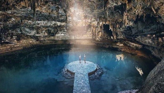 Deja que la luz llegue a ti en el impactante cenote Suytun, en la Riviera Maya