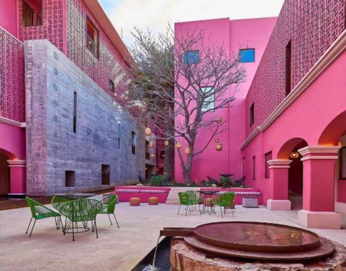 Conoce los hoteles color rosa de México y hospédate el estilo más chic