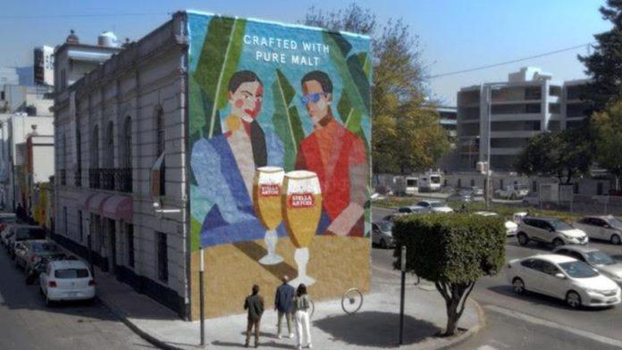 Conoce el mural cervecero hecho con semillas de malta en México