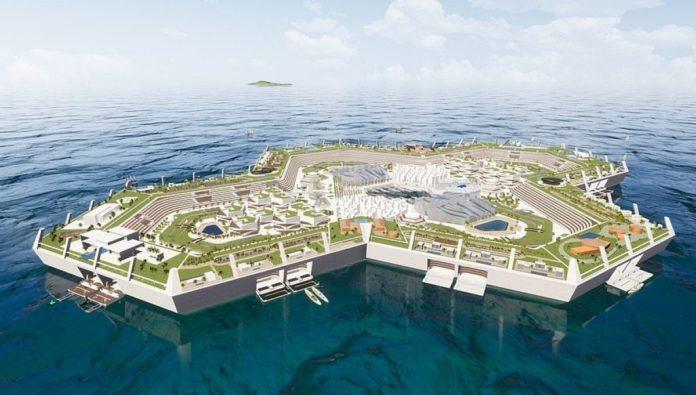 Se construirá isla artificial en las aguas del Caribe