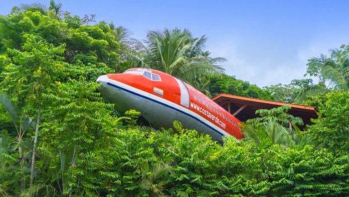 Costa Verde 727 Fuselage: hospedaje de altura en la selva de Costa Rica