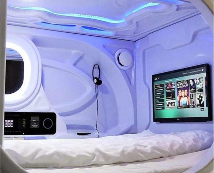 Galaxy Pod Hostel, el alojamiento que parece del espacio exterior