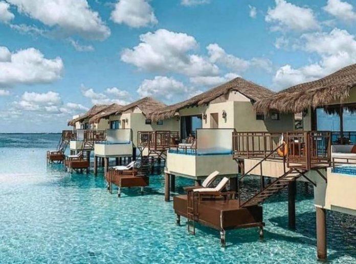 Hoteles de México con habitaciones rodeadas de agua