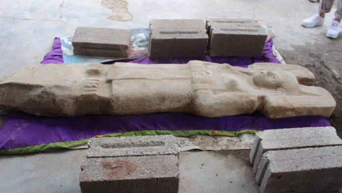 INAH: escultura prehispánica descubierta en Veracruz podría reflejar a una mujer gobernante