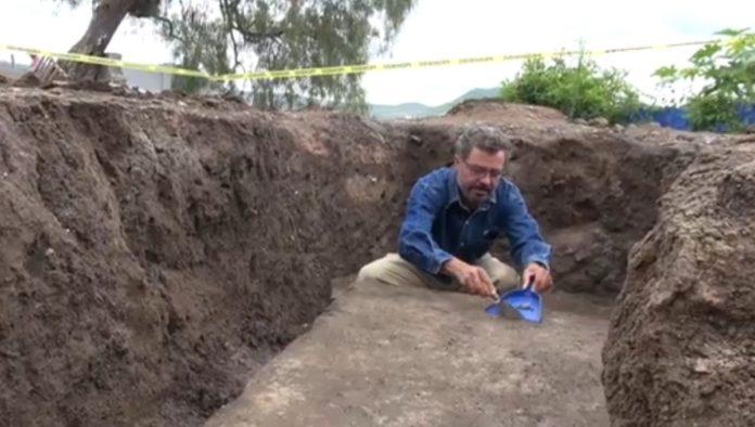 INAH muestra hallazgo prehispánico en Atlixco, Puebla