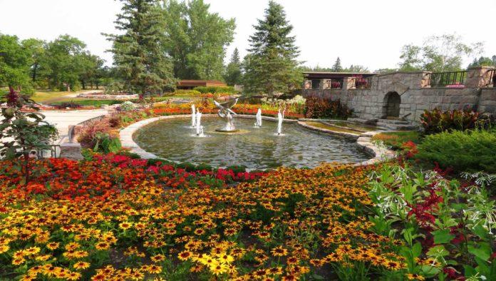 International Peace Garden, todo un símbolo de paz en el mundo