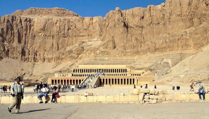 La tumba de Ramsés I se halla en el Valle de los Reyes