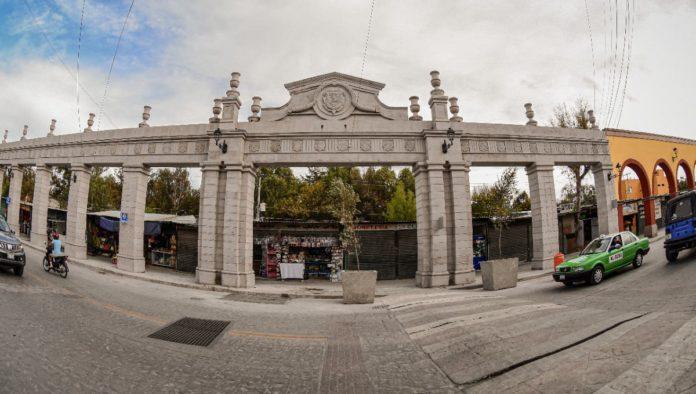 San Miguel de Allende presume su nueva Arcada de la Avenida Guadalupe