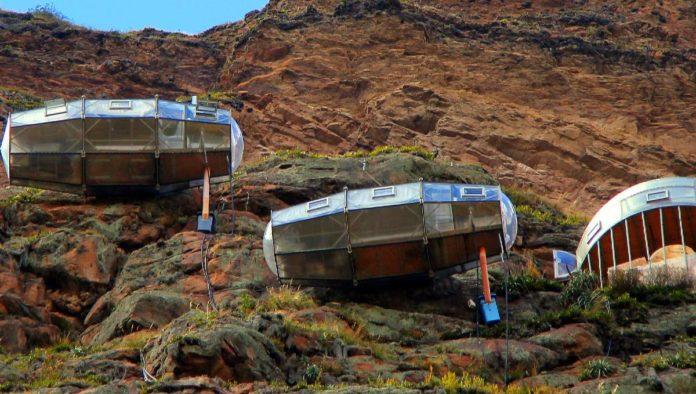 Skylodge Adventure Suites: 400 metros de altura en el Valle Sagrado de los Incas