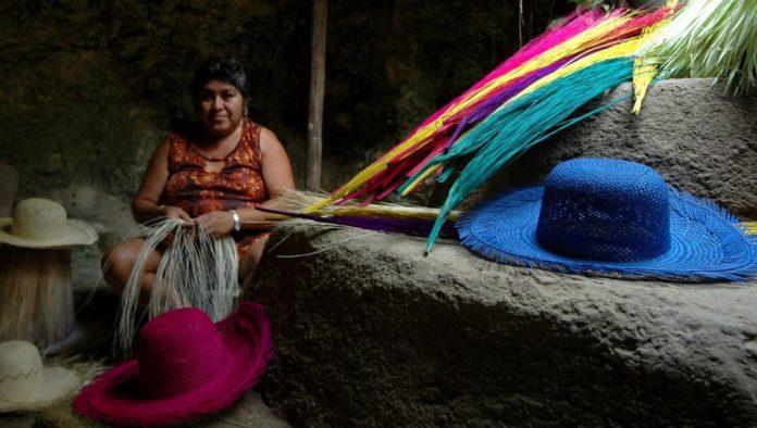 Sombreros de jipijapa, artesanía popular de Campeche