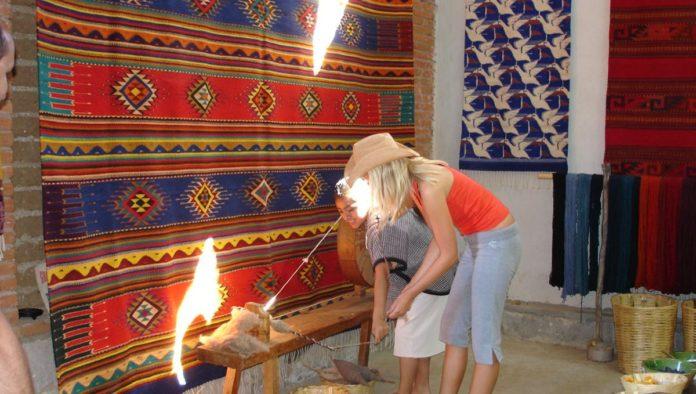 Teotitlán del Valle: reconocimiento mundial por sus finas artesanías de lana