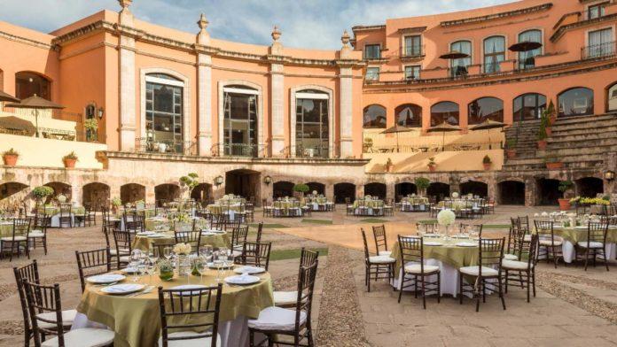 Quinta Real Zacatecas: el romántico hotel construido en una antigua plaza de toros
