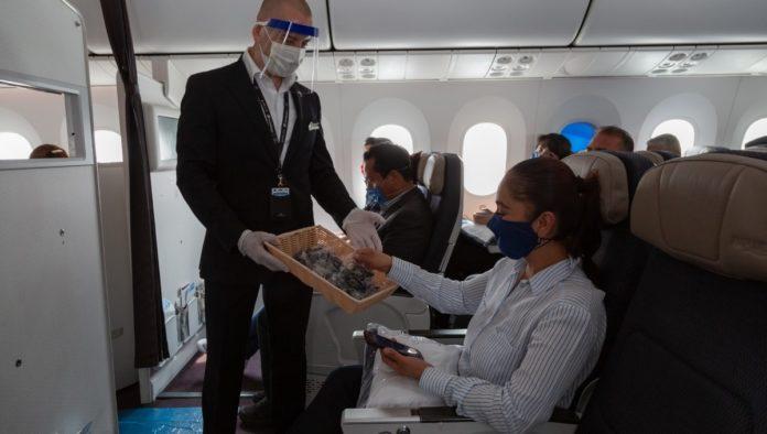Aeroméxico obtiene nivel platino por medidas de salud