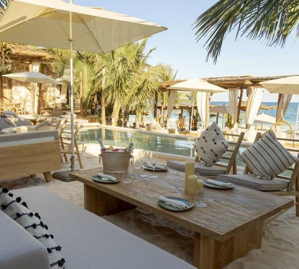 Vive una extraordinaria experiencia en el Tantra Bohemian Luxury Beach Club Tulum