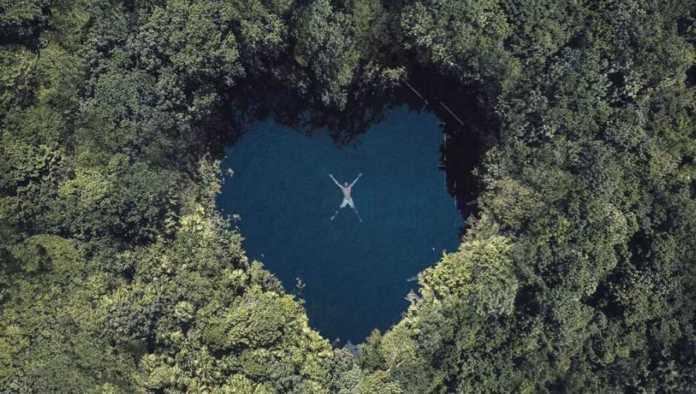 ¿Cenote en forma de corazón? Un rinconcito encantador en Tulum