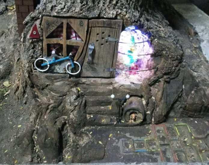 Conoce la casita del árbol que se encuentra en la colonia Valentín Gómez Farías