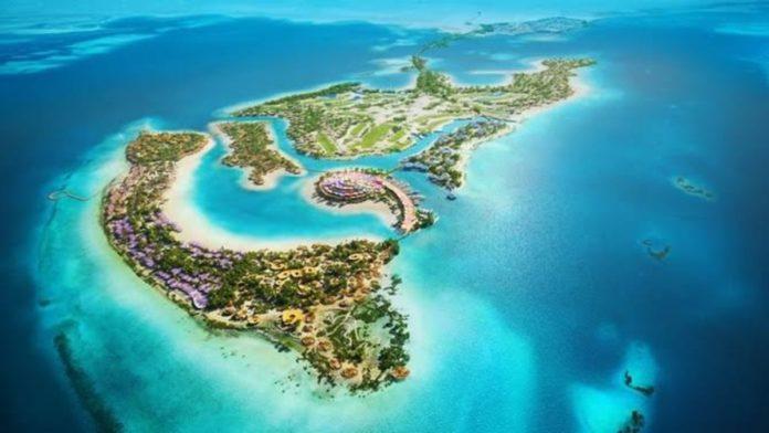 Coral Bloom, el resort en forma de delfín que prepara Arabia Saudita
